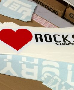 i heart rocks stickers