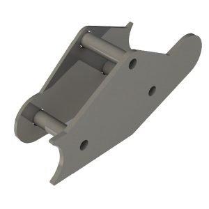 IFS steering box frame reinforcement